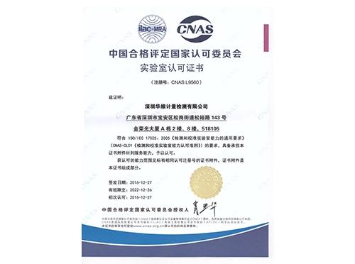 CNAS中文版